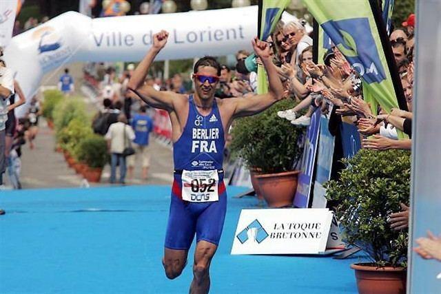 Sébastien Berlier Triathlon Sbastien Berlier sur un nuage de bronze Info La