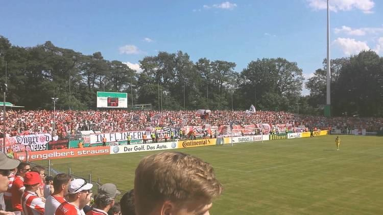 SC Wiedenbrück 2000 SC Wiedenbrck Fortuna Dsseldorf DFB Pokal 1 Runde YouTube