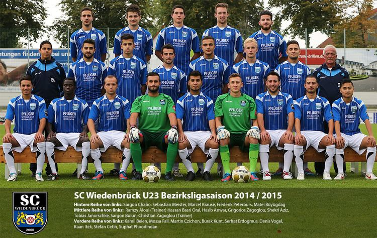 SC Wiedenbrück 2000 SC Wiedenbrck 2 Mannschaft Herren 201516 FuPa