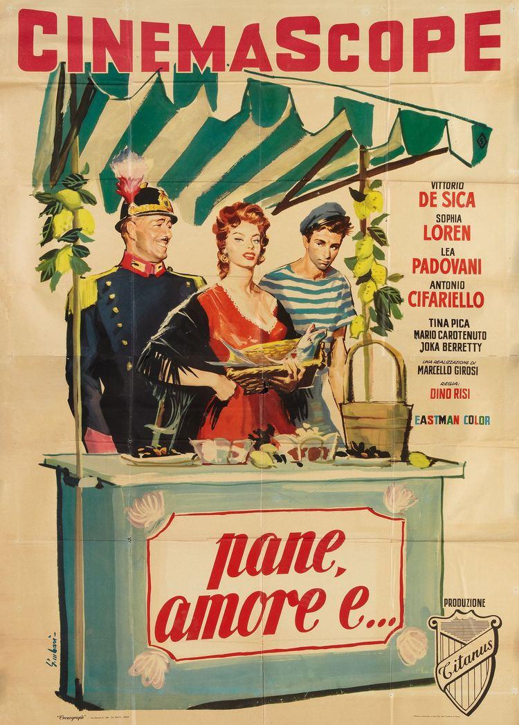 Scandal in Sorrento Pane amore e de Dino RISI 1955 RAI 3 8 Aot 2016