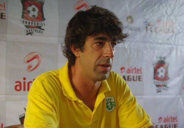 Óscar Bruzón Oscar Bruzon dedicates Salgaocar win to Dawson Fernandes Goalcom