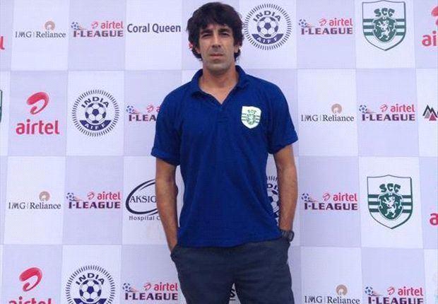 Óscar Bruzón Oscar Bruzon quits Sporting Goa amicably Goalcom