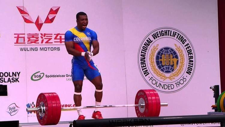 Óscar Figueroa (weightlifter) WWC 2013 Wroclaw Men 62 kg Oscar Albeiro Figueroa Mosquera 175 kg