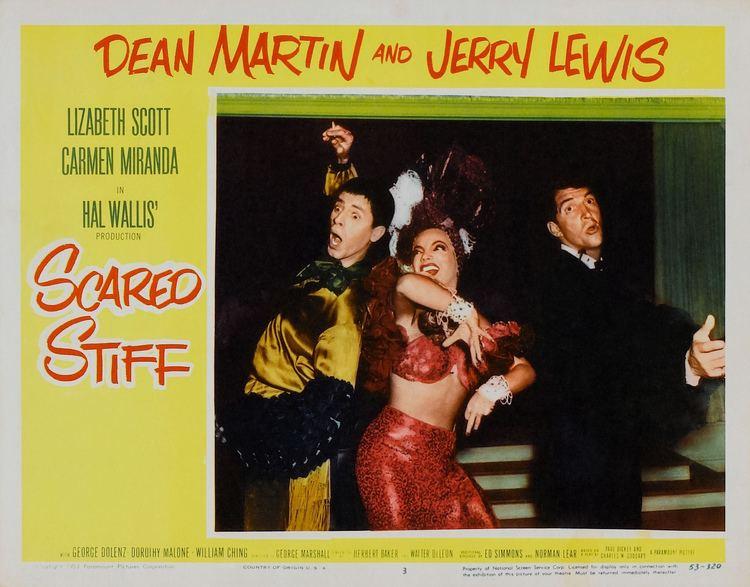 Scared Stiff (1953 film) Scared Stiff 1953