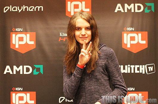 Scarlett (StarCraft II player) Interview 2012 IPL4 Scarlett
