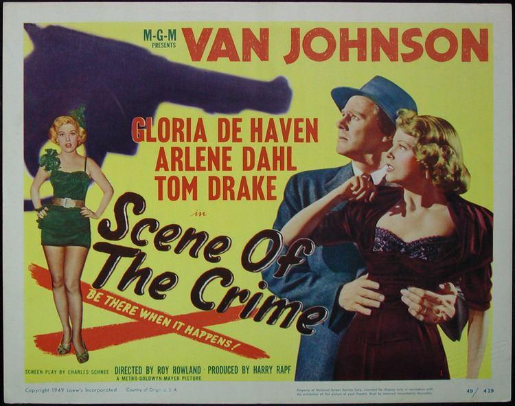 Scene of the Crime (1949 film) Van Johnson is on the Case Scene of the Crime 1949 The