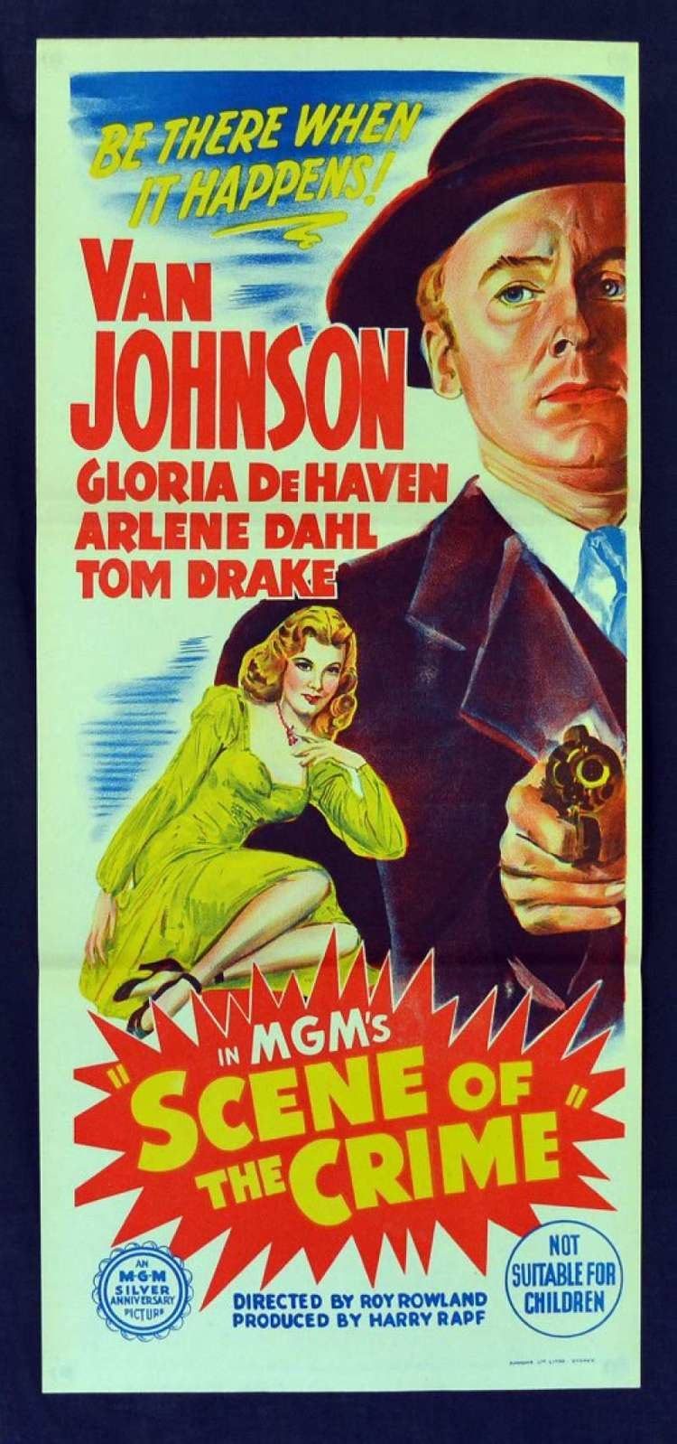 Scene of the Crime (1949 film) All About Movies Scene Of The Crime 1949 Daybill movie poster Film