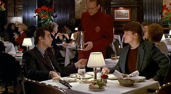 Scent of a Woman (1992 film) movie scenes Scent of a Woman 1992 The Oak Room isn t where Al Pacino and Gabrielle Anwar had the famous tango scene that was at the Pierre Hotel ballroom