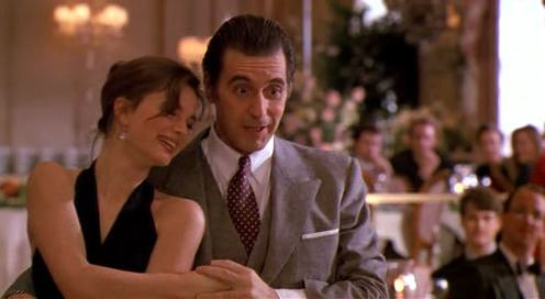 Scent of a Woman (1992 film) movie scenes 2 Scent of a Woman 1992 Al Pacino and Gabrielle Anwar dance the tango to Por Una Cabeza One of Pacino s final wishes is to make love to a beautiful
