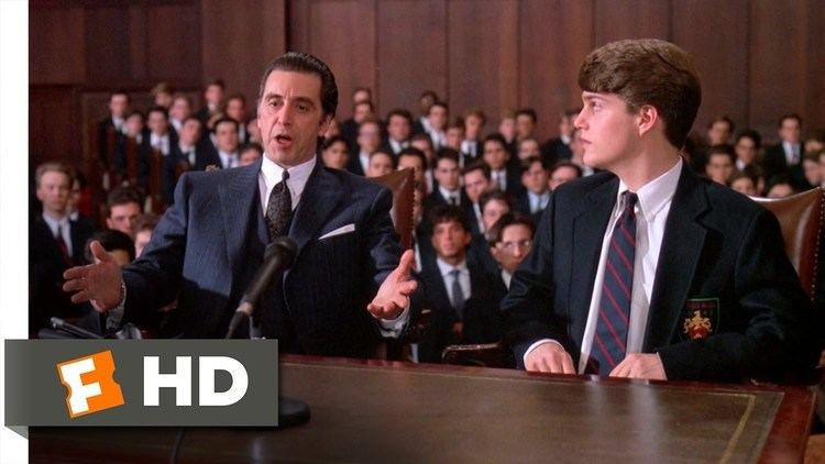 Scent of a Woman (1992 film) movie scenes Frank Defends Charlie in Court Scent of a Woman 8 8 Movie CLIP 1992 HD
