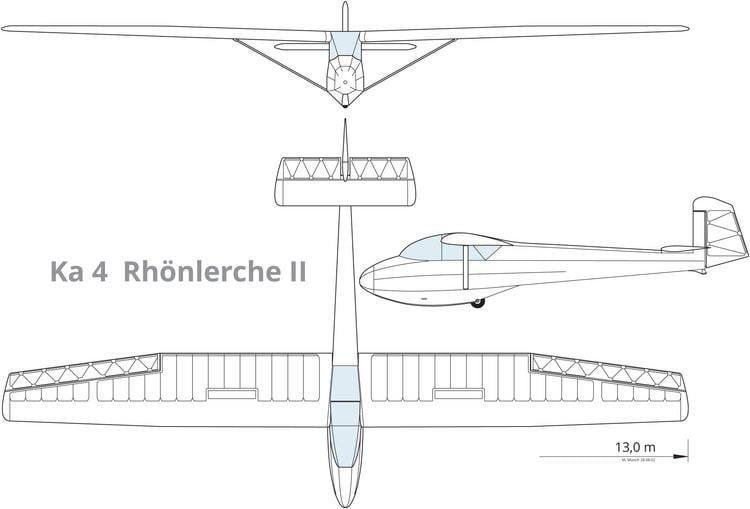 Schleicher Ka-4 Rhönlerche II Ka 4 Rhnlerche II ASSegelflug