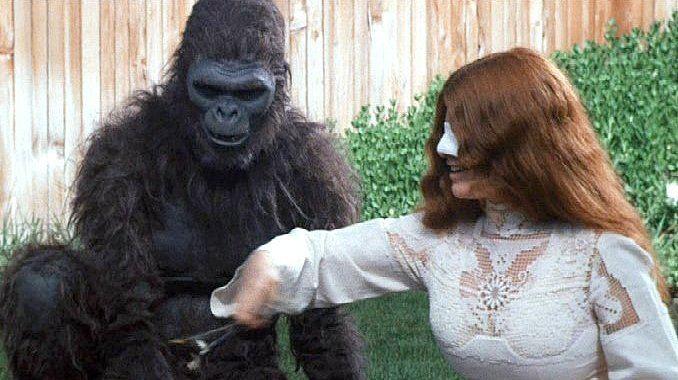 Schlock (film) Banana Monster is pure Schlock John Landiss first movie is a