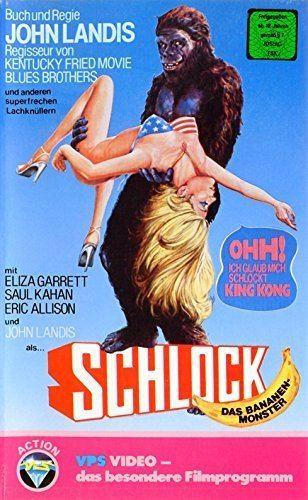 Schlock (film) Amazoncom Schlock VHS Forrest J Ackerman Eric Allison Tom