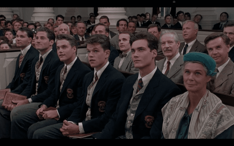 School Ties Overdue Review Better Late