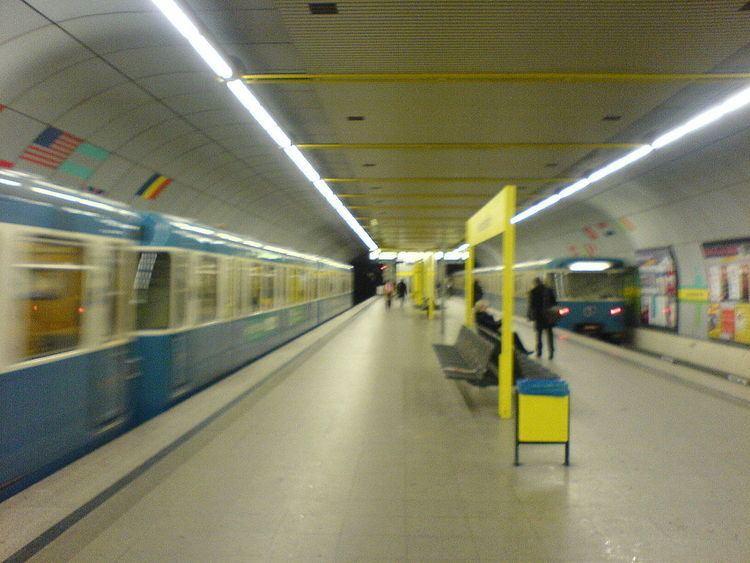 Schwanthalerhöhe (Munich U-Bahn)