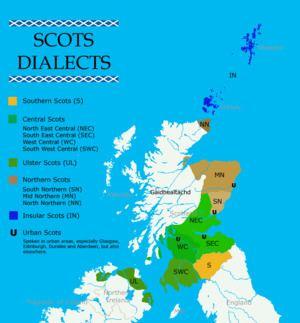 Scots language Modern Scots Wikipedia