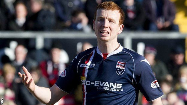 Scott Boyd BBC Sport Ross County Scott Boyd signs new contract for