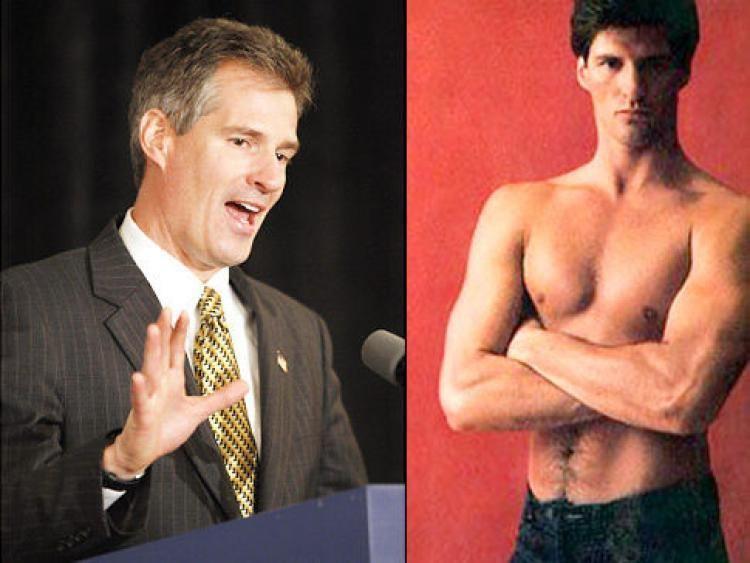 Scott Brown (politician) New Mass senator Scott Brown says nude Cosmo photos helped get him