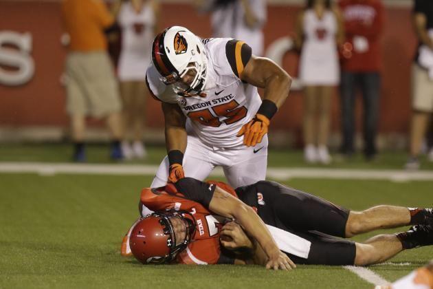 Scott Crichton 2014 Atlanta Falcons Potential Draft Pick Profile DEOLB