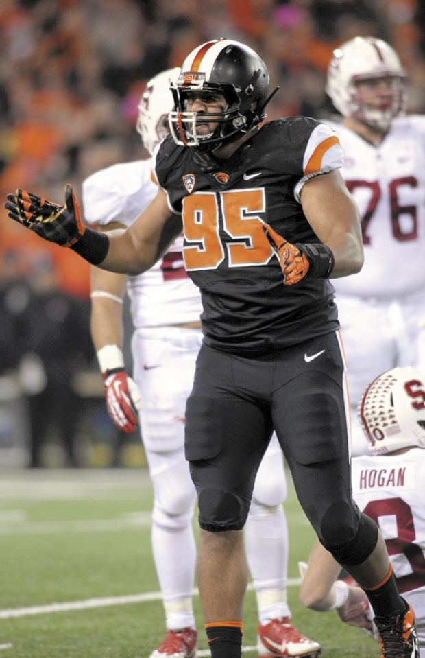 Scott Crichton OSU football Beavers losing Crichton to NFL Football