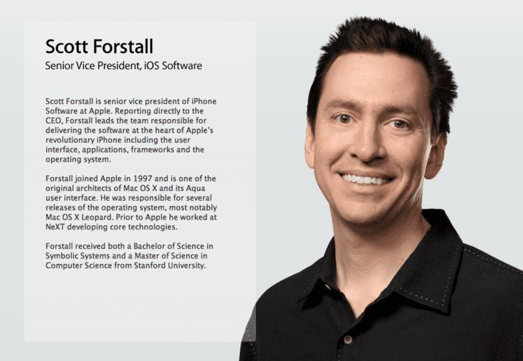 Scott Forstall ScottForstallIsLeavingApple2png