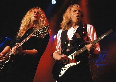 Scott Gorham Rock gods resurrected Thin Lizzy39s guitarist Scott Gorham