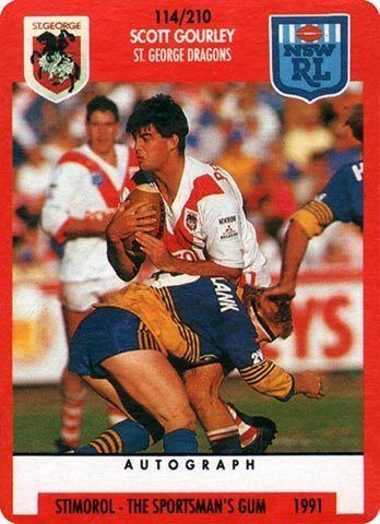 Scott Gourley The Greatest Game of All Rugby League Cards Scott Gourley