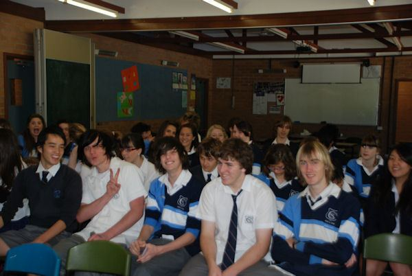 Scott Monk Covenant Christian School BELROSE SYDNEY AUSTRALIA