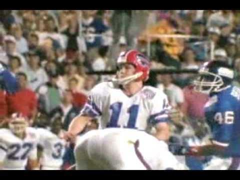 Scott Norwood Scott Norwood Missed Field Goal Super Bowl XXV YouTube