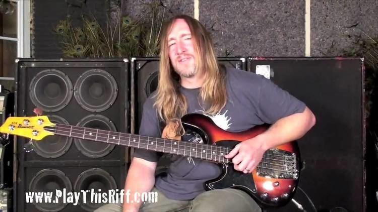 Scott Reeder (bassist) Scott Reeder39s Metallica try out Space Cadet bass lesson