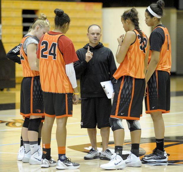 Scott Rueck OSU women39s basketball Beavers hope young players grow up