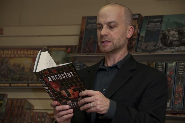 Scott Sigler The Render Edge Scott Sigler ANCESTOR Book Reading in