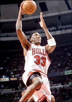 Scottie Pippen Scottie Pippen resigns with the Bulls THE OFFICIAL SITE OF THE