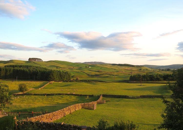 Scottish Lowlands Scotland Barnstorming