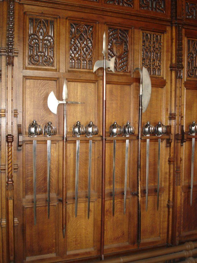 Scottish polearms