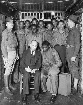Scottsboro Boys Scottsboro Boys Trial and Defense Campaign 19311937 The Black
