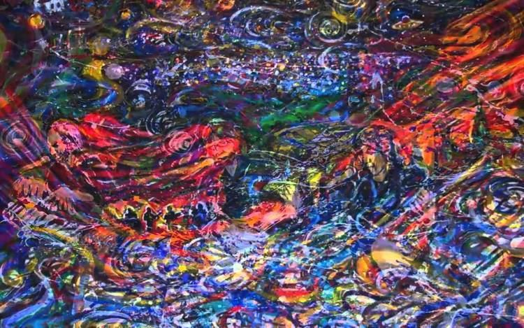Scramble Campbell Scramble Campbell39s paintings of Red Rocks YouTube