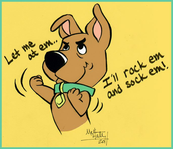 Scrappy-Doo ScrappyDoo Funny things Puppys and Scooby doo