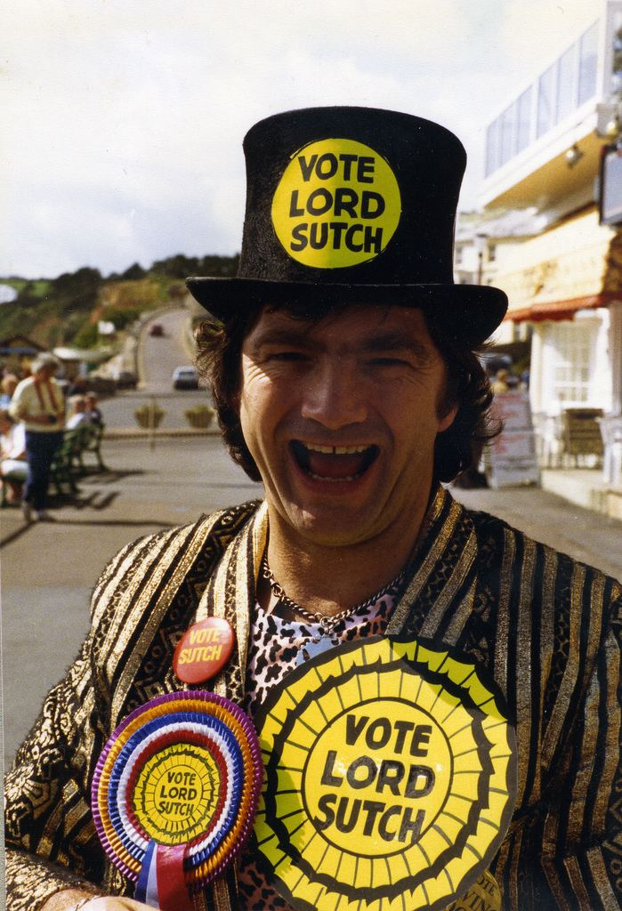 Screaming Lord Sutch Lord Sutch Seaton 1988 David Edward Sutch aka Screamin Flickr