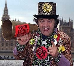 Screaming Lord Sutch David Edward Sutch 1940 1999 Find A Grave Memorial