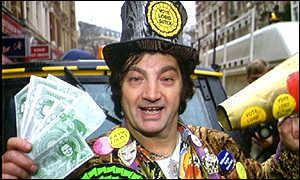 Screaming Lord Sutch BBC News UK Politics Screaming Lord Sutch found dead