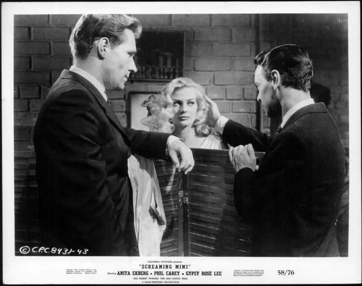 Screaming Mimi (film) SCREAMING MIMI 1958 ANITA EKBERG 1 orig 8x10 Glossy Still FILM