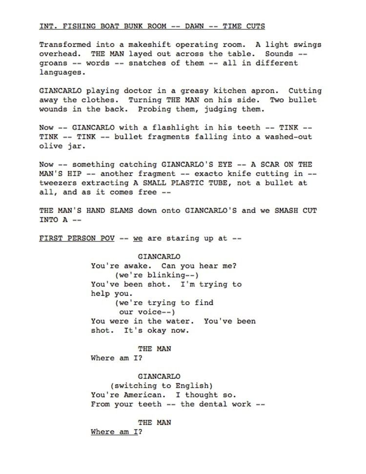 Screenplay The Skimmable Screenplay Voyage