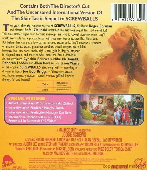 Screwballs II Screwballs II Loose Screws Bluray