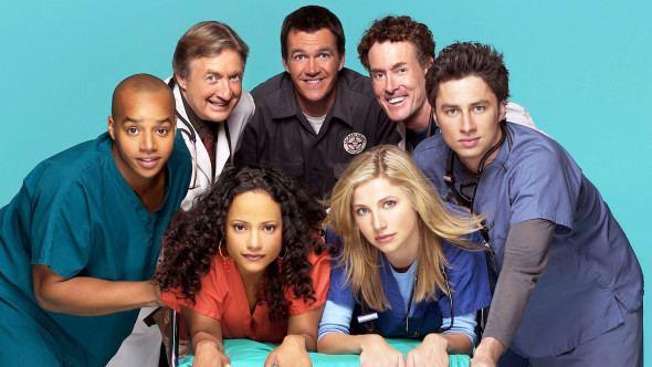 Scrubs (TV series) Scrubs Sitcom Castmembers Reunite for Easter canceled TV shows