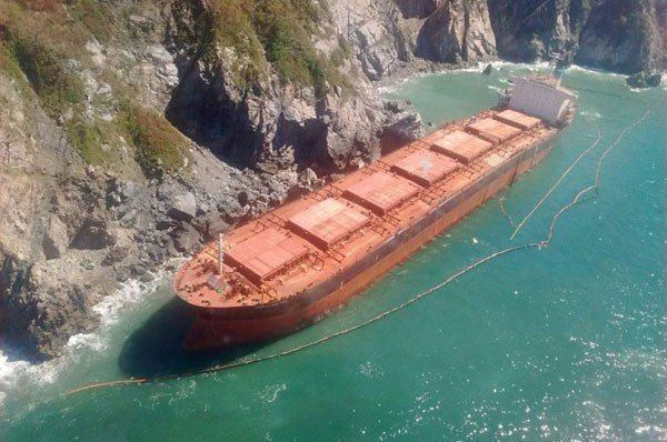 Scuttling Ship crippled by Hurricane Patricia readied for scuttling