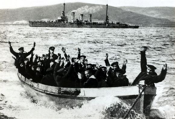 Scuttling of the German fleet in Scapa Flow GHDI Image