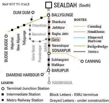 Sealdah South lines