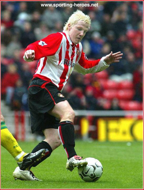 Sean Thornton Sean THORNTON League appearances Sunderland FC