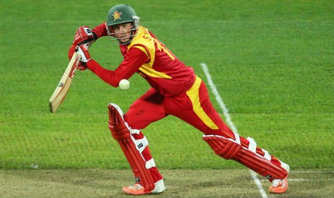 Sean Williams (cricketer) Sean Williams dismissed at 96 Ireland vs Zimbabwe 2015